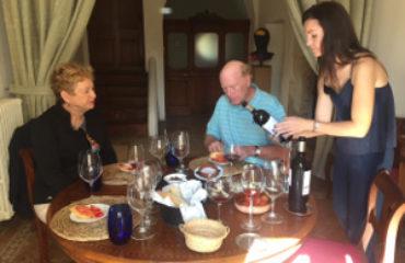Wine tasting in style
