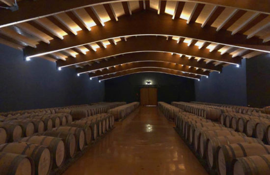 Pere Ventura barrel room