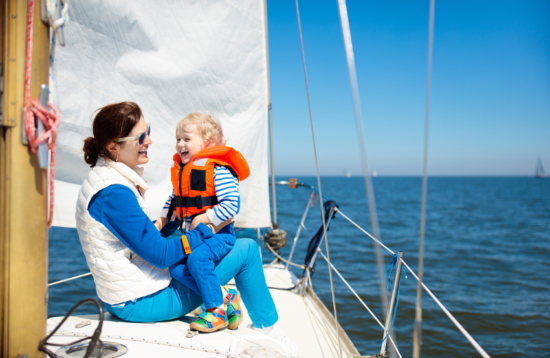 Family Sailing tour
